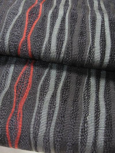 超貴重品 経ヨロケ櫛織袋帯