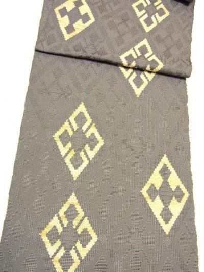 都の手織八寸帯