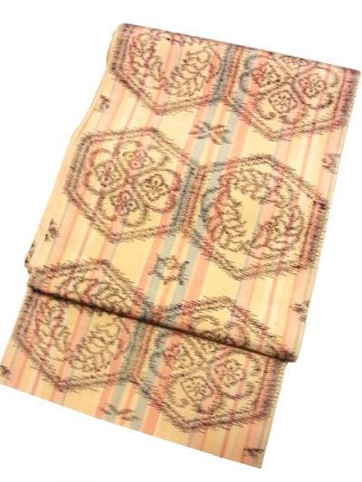 超珍品 泰生織物の海島綿手織袋帯