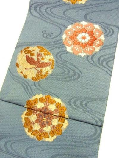 幸美織物 手織唐織袋帯