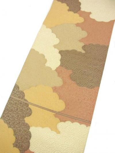 織成織(しょくせいおり)の手織八寸帯