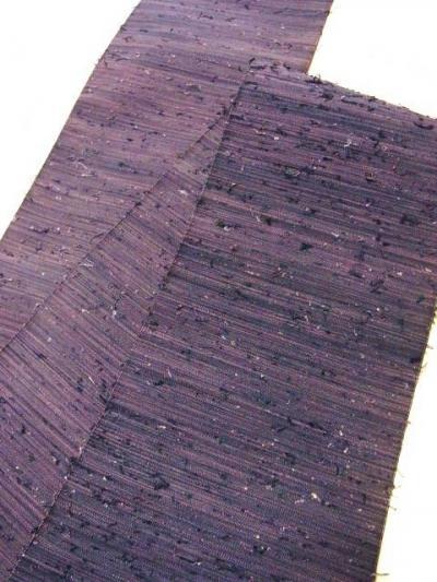西陣手織綴れ結び糸織