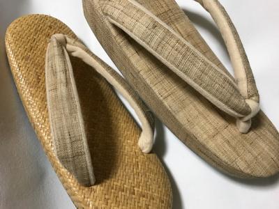 単衣や夏着物用の草履