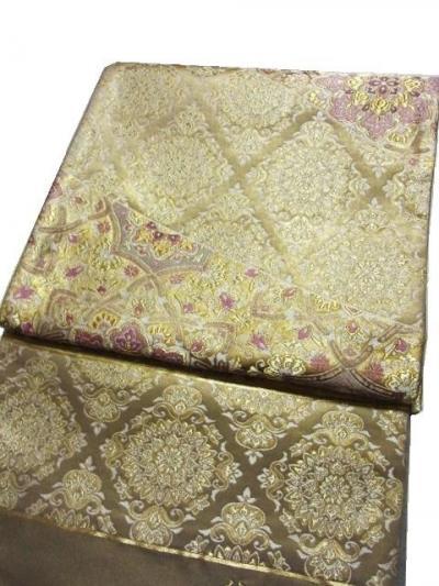西陣 幸美織物 純金本引箔手織袋帯