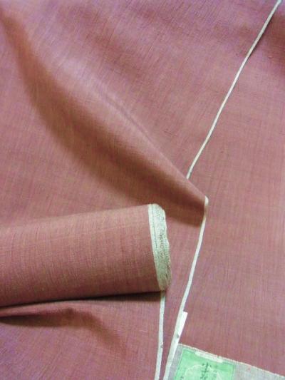 小千谷 手織絹ちぢみ
