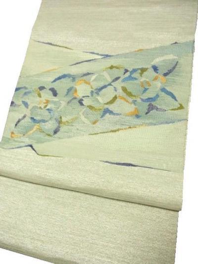 西陣 浅野織屋 手機綴れ掬い織袋帯